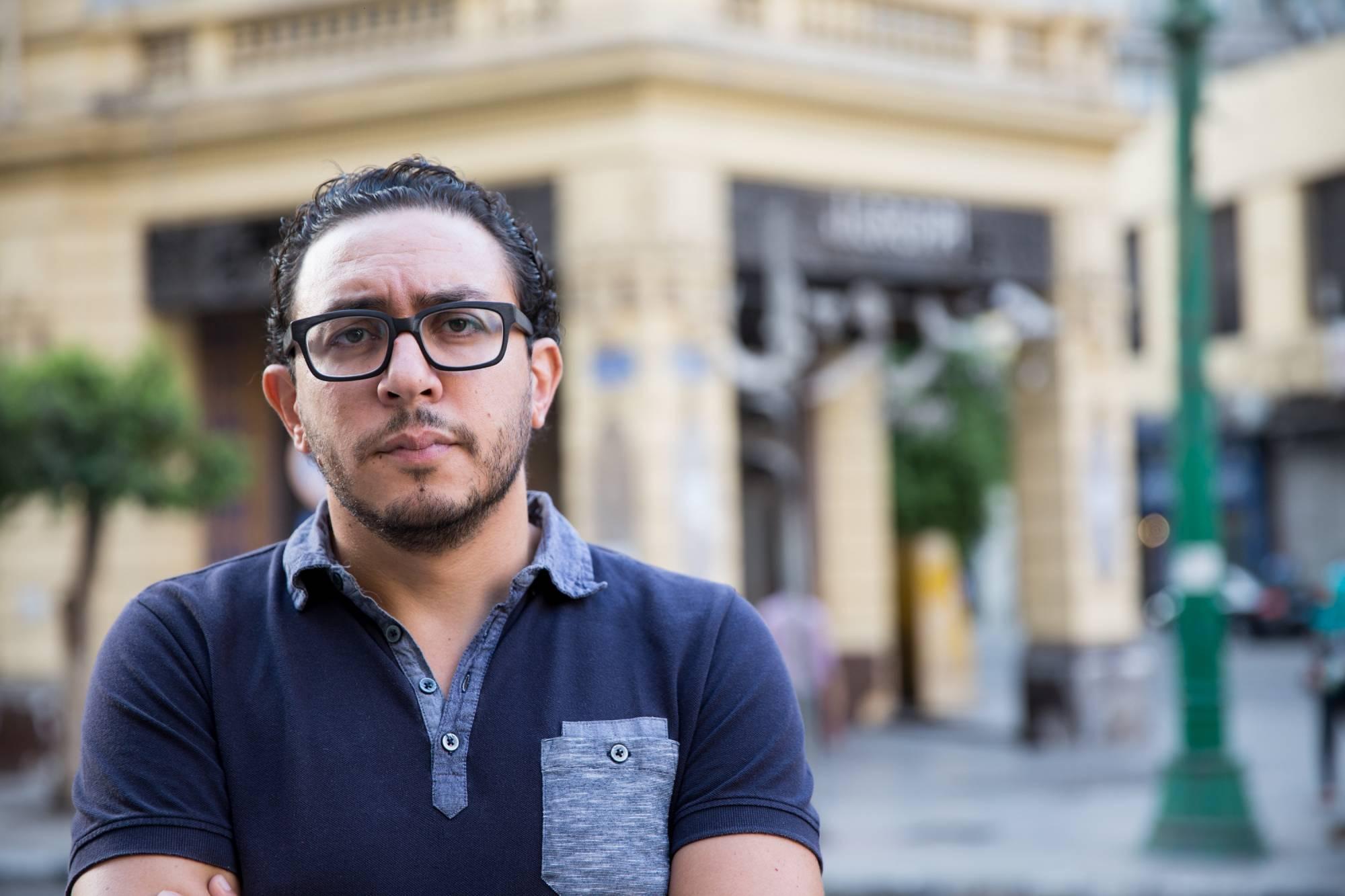 Haytham Nawar, Cairo, 2017 (Image: Mostafa Abdel Aty)