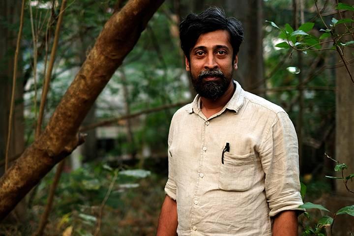 Sankar Venkateswaran, Thrissur, India, 2018 (Image: Manoj Parameswaran)