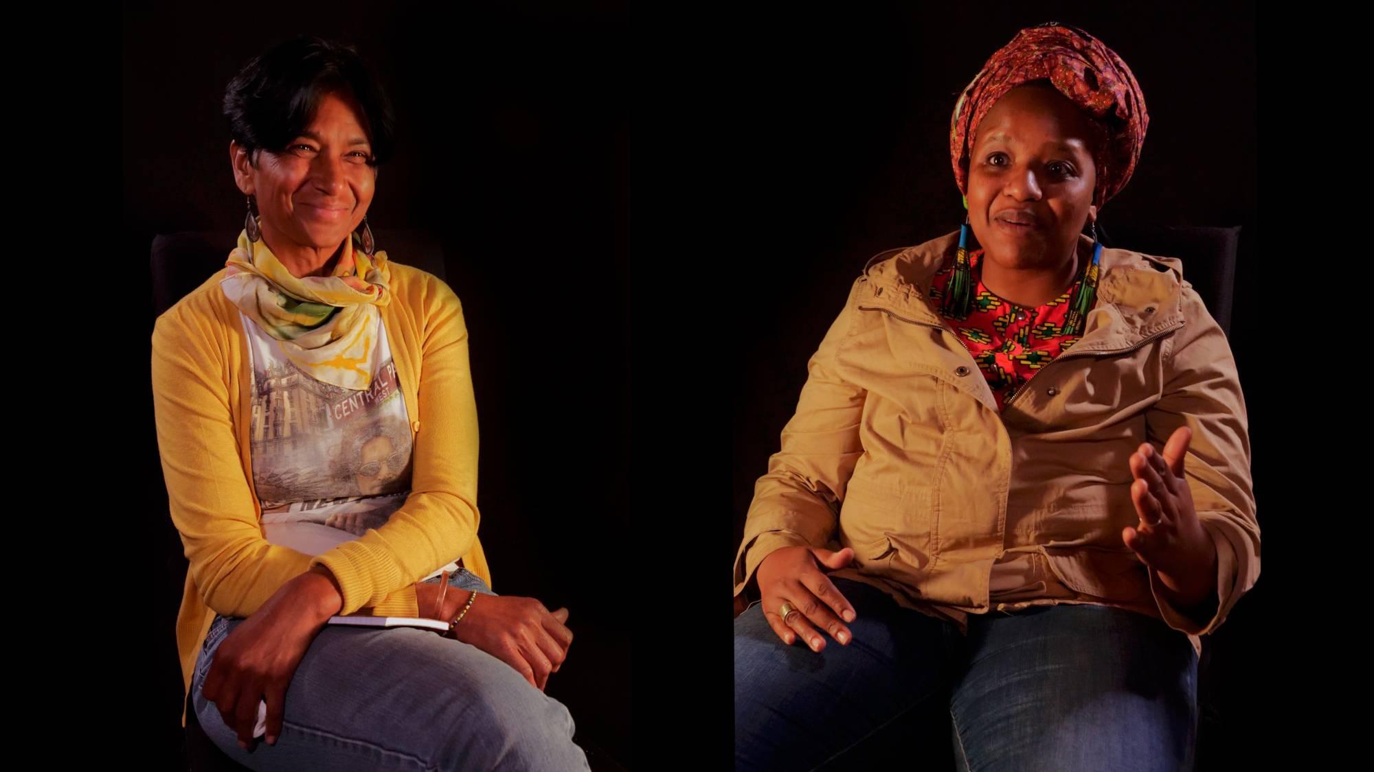 Sharon & Hlengiwe, Mageliesburg, Südafrika, Mai 2018 (Videostill: Benno Seidel)
